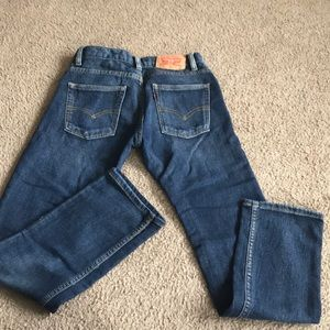 Boys Levis jeans, super soft with some stretch